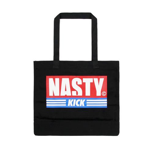 [NYPM] NASTY KICK TOTEBAG (BLK)