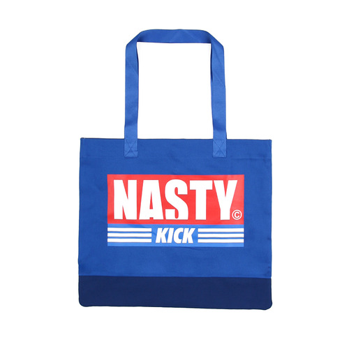 [NYPM] NASTY KICK TOTEBAG (BLUE)