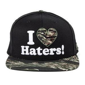 DGK HATERS SNAPBACK CAP - BLACK/TIGER