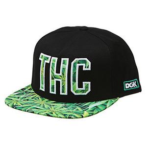 DGK THC SNAPBACK CAP BLACK